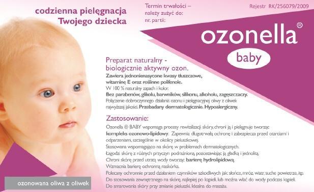 Ozonowana oliwka dla dzieci